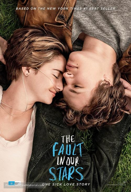 The Fault in Our Stars - Australian Movie Poster