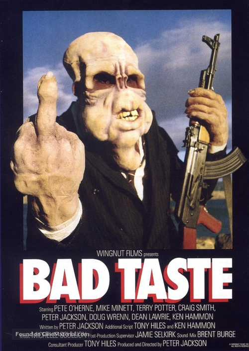 Bad Taste - Movie Poster