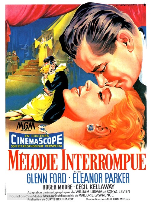 Interrupted Melody - French Movie Poster