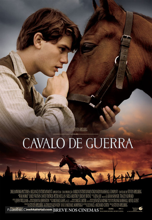 War Horse - Brazilian Movie Poster