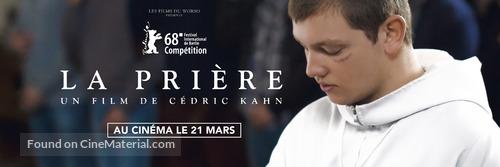 La prière - French Movie Poster