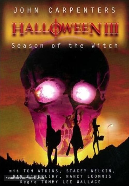 Halloween III: Season of the Witch - German Movie Cover