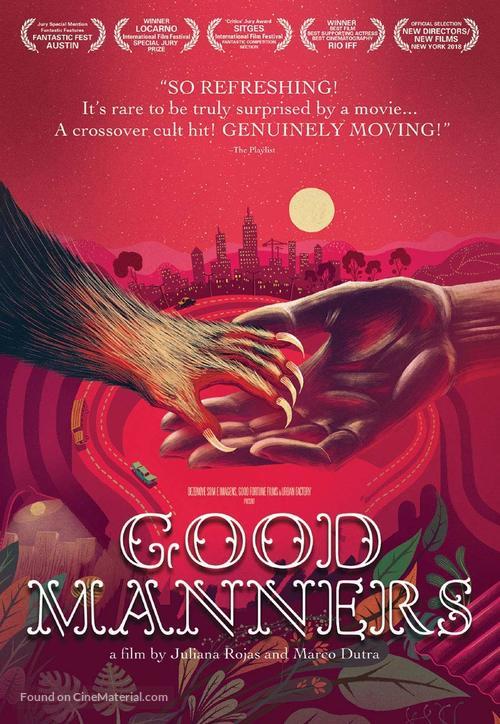 As Boas Maneiras - Movie Cover