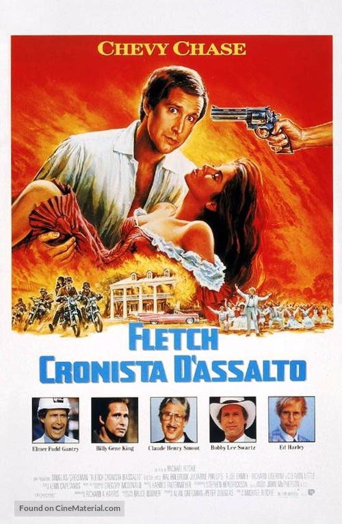 Fletch Lives - Italian Movie Poster