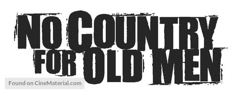 No Country for Old Men - Logo