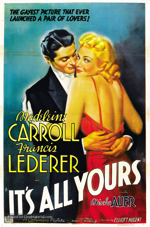 It's All Yours - Movie Poster