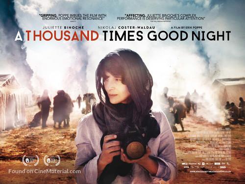 Tusen ganger god natt - British Movie Poster