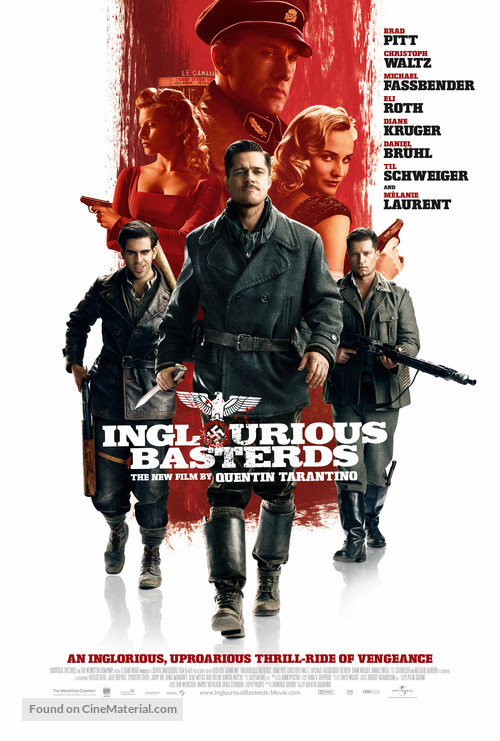 Inglourious Basterds - Movie Poster