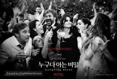 Todos lo saben - South Korean Movie Poster