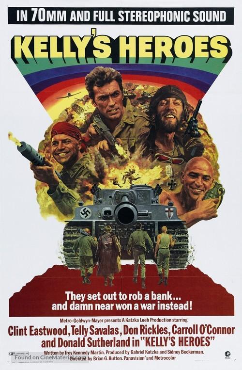 Kelly's Heroes - Movie Poster