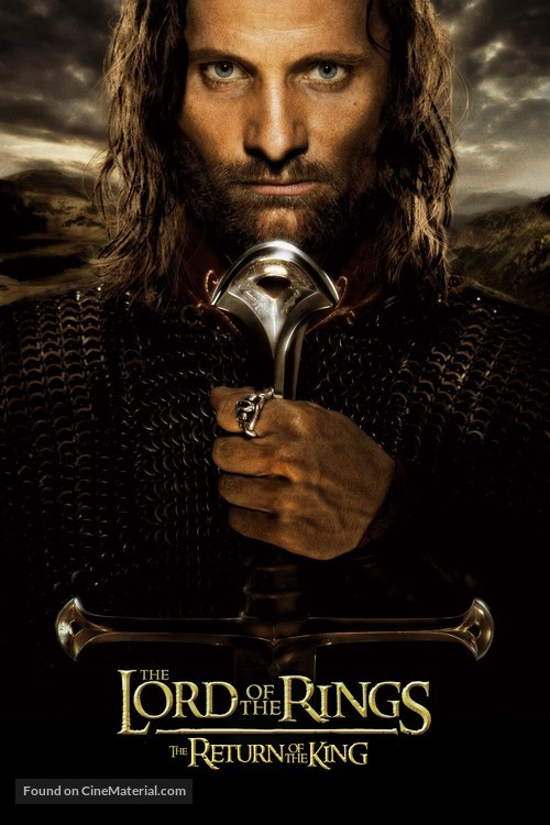 The Lord of the Rings: The Return of the King - Movie Cover