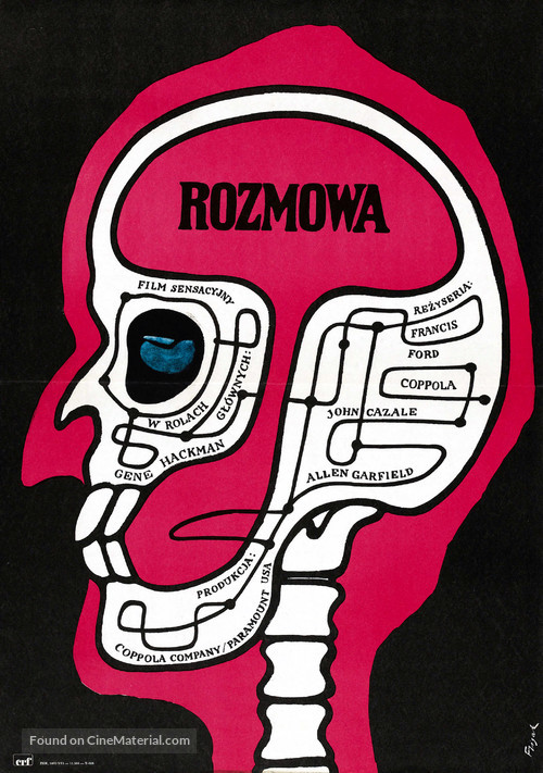 The Conversation - Polish Movie Poster