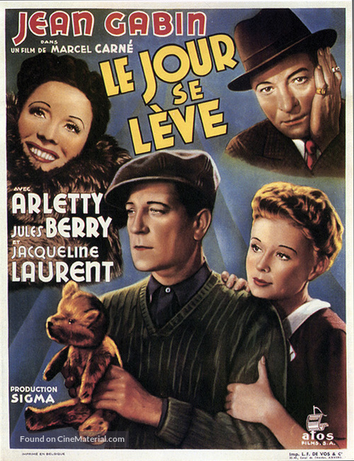 Le jour se lève - French Movie Poster