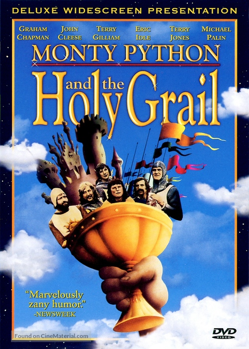 Monty Python and the Holy Grail - DVD cover