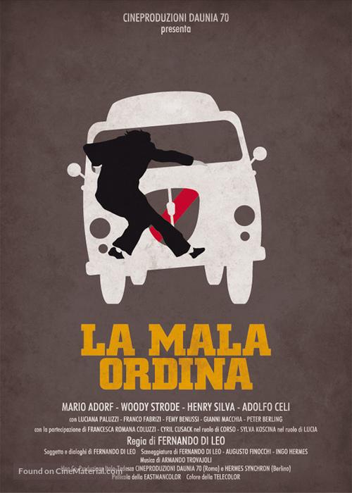 La mala ordina - Italian Movie Poster