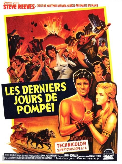 Ultimi giorni di Pompei, Gli - French Movie Poster
