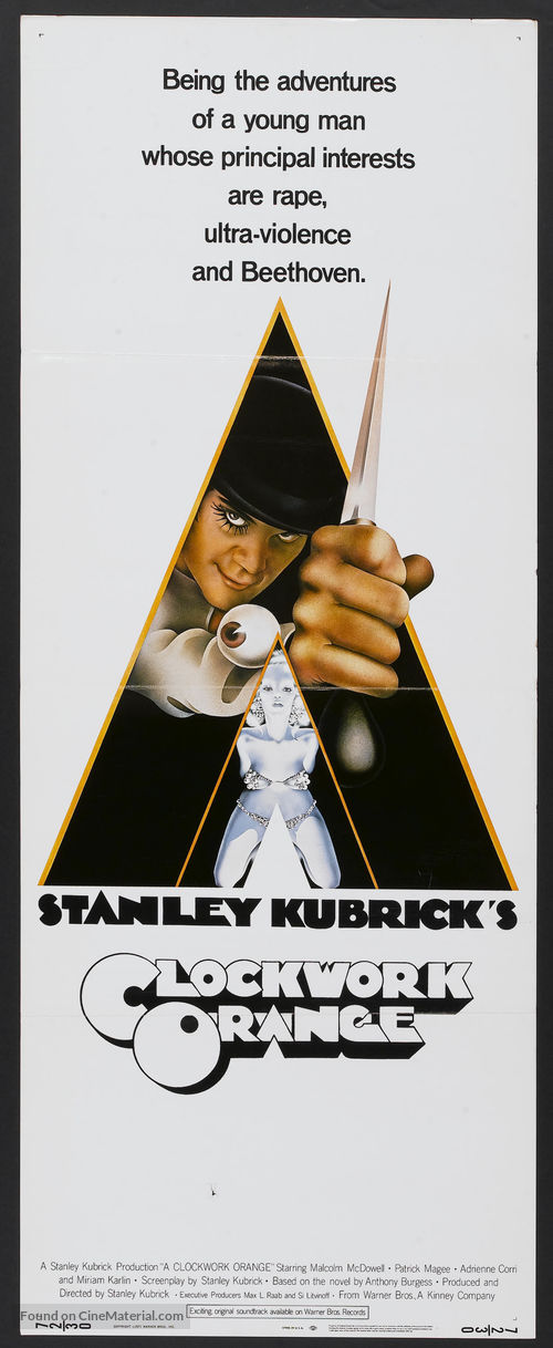 A Clockwork Orange - Theatrical poster