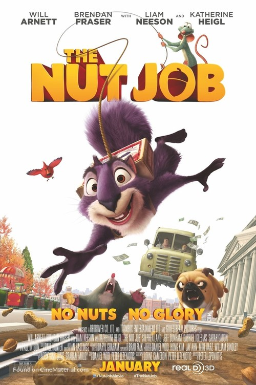 The Nut Job - Movie Poster