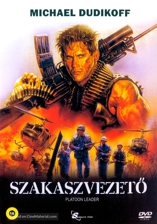 Platoon Leader - Hungarian DVD movie cover