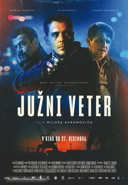 Juzni vetar - Slovenian Movie Poster