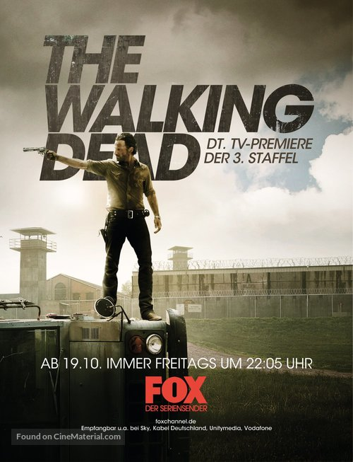 """The Walking Dead"" - German Movie Poster"