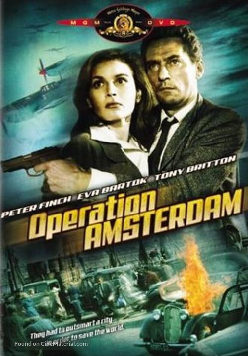 Operation Amsterdam - DVD movie cover