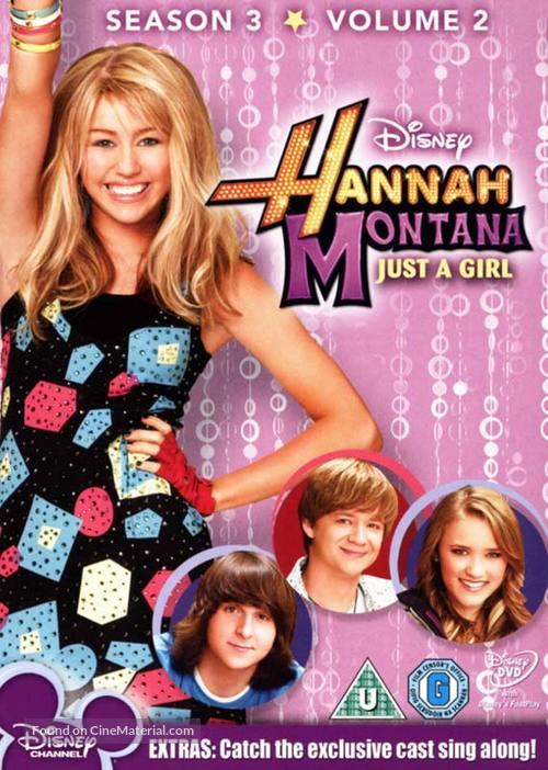 """Hannah Montana"" - British DVD cover"