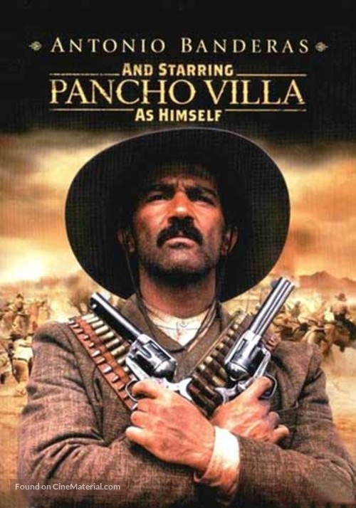 And Starring Pancho Villa as Himself - DVD cover