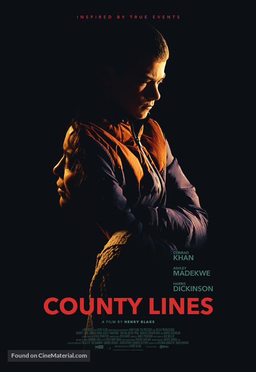 County Lines - Belgian Movie Poster