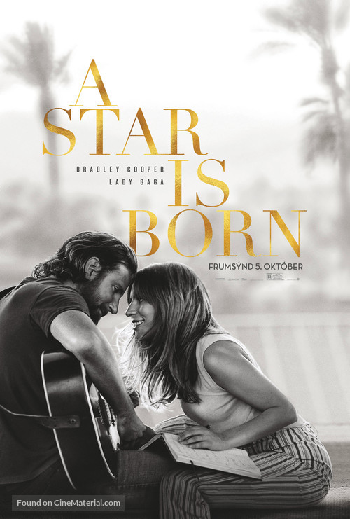 A Star Is Born - Icelandic Movie Poster