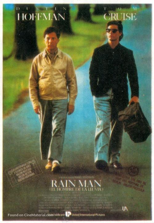 Rain Man - Spanish Movie Poster