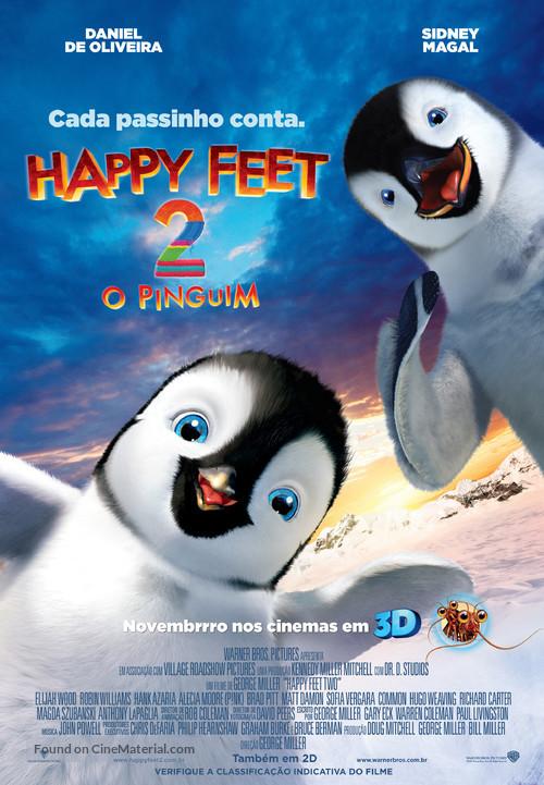 Happy Feet Two - Brazilian Movie Poster