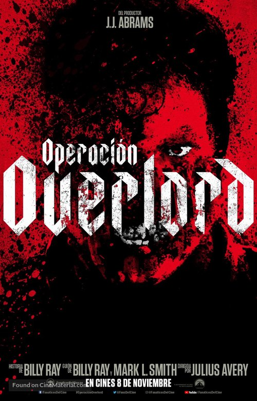 Overlord - Argentinian Movie Poster