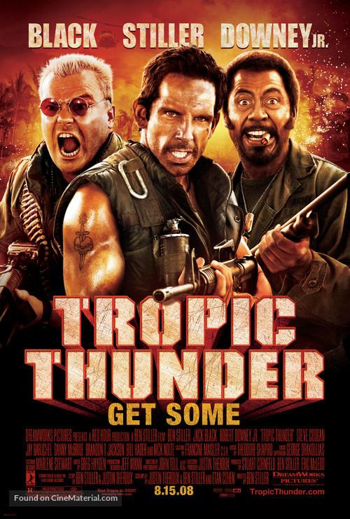 Tropic Thunder - Movie Poster