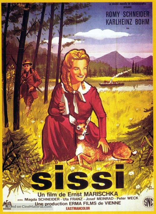 Sissi - French Movie Poster