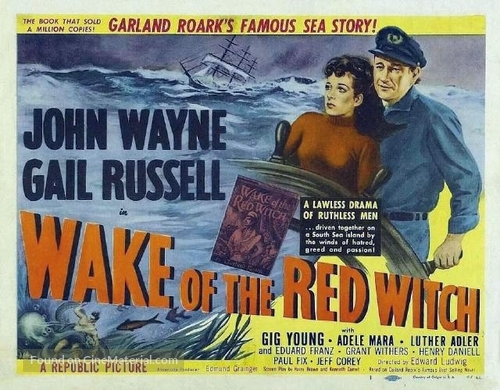 Wake of the Red Witch - Movie Poster