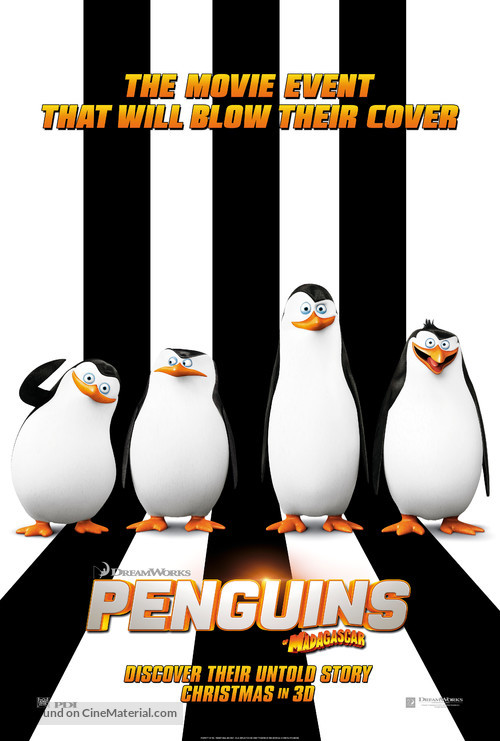 Penguins of Madagascar - Movie Poster
