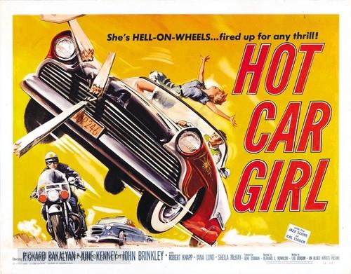 Hot Car Girl - Movie Poster