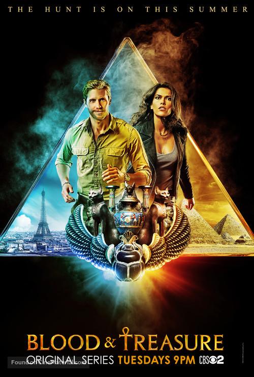 """Blood & Treasure"" - Movie Poster"