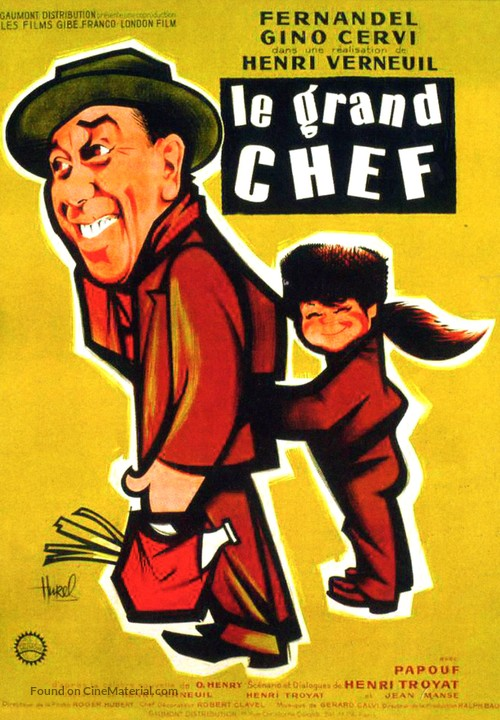 Le Grand Chef French Movie Poster