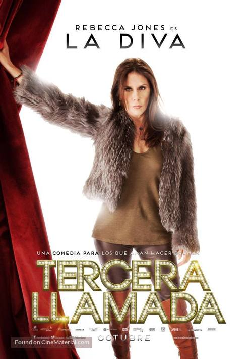 Tercera Llamada - Mexican Movie Poster