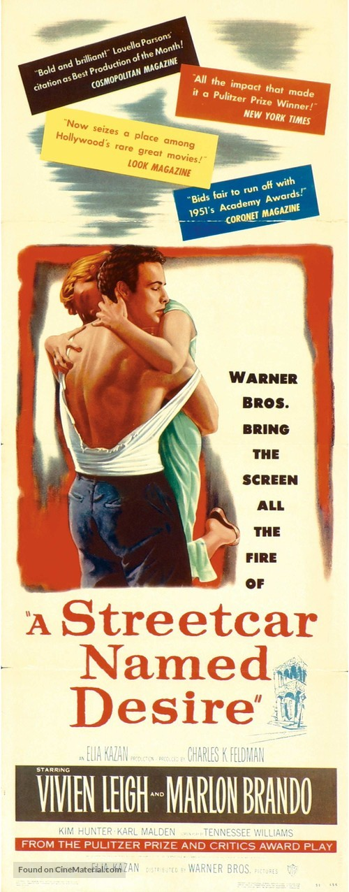 A Streetcar Named Desire - Movie Poster