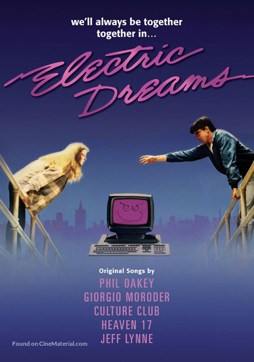 Electric Dreams - DVD cover
