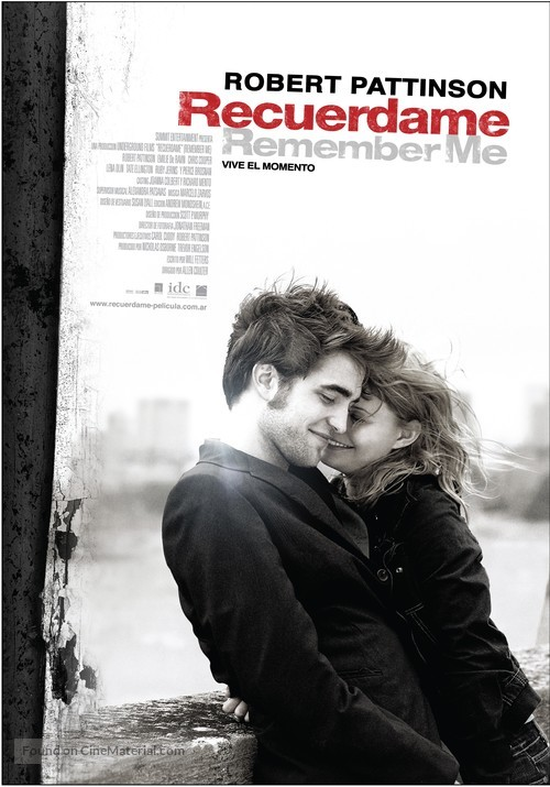 Remember Me - Argentinian Movie Poster