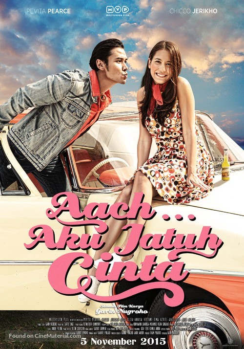 Aach... Aku Jatuh Cinta - Indonesian Movie Poster