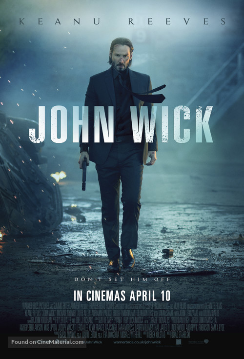 John Wick - British Movie Poster