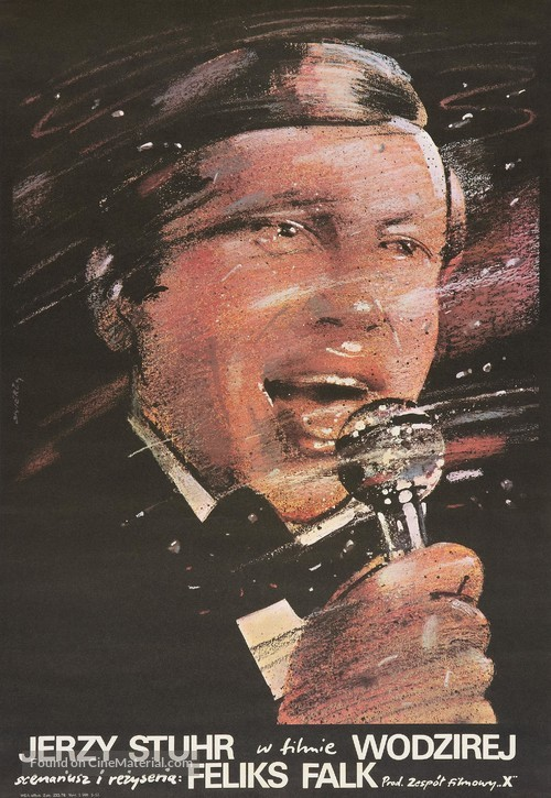Wodzirej - Polish Movie Poster