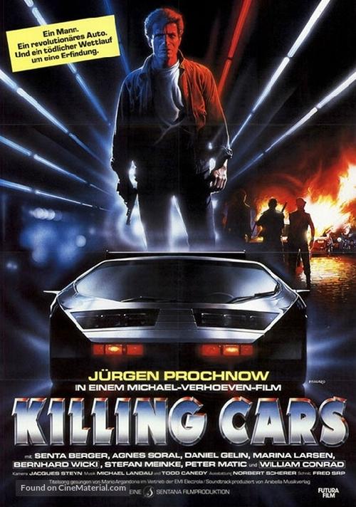 Killing Cars - German Movie Poster