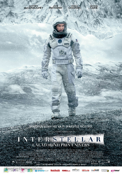 Interstellar - Romanian Movie Poster