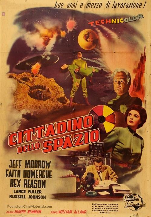 This Island Earth - Italian Movie Poster